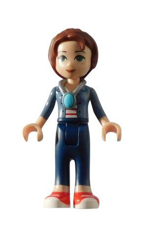Lego Emily Jones Hose in dunkelblau Minifigur Legofigur Elfen Elves elf044 Neu