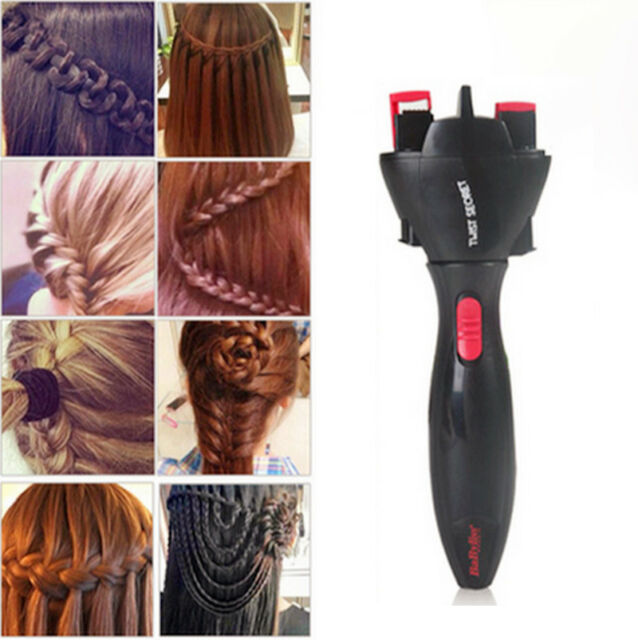 Automatic Hair Braider Electric Two Strands Twist Braid Maker Device Hairstyle E