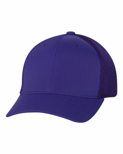 FLEXFIT Mens Ultrafiber Cap with Air Mesh Sides Fitted Trucker Hat S//M L//XL 6533