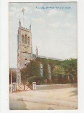Kent, Broadstairs Church Postcard, A845
