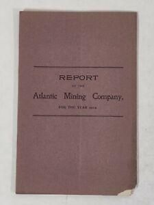 Atlantic Mining Company 1902 REPORT John Stanton BALTIC MINING Accounting