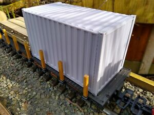 G Scale Container, G Gauge,  railway, railroad, model.