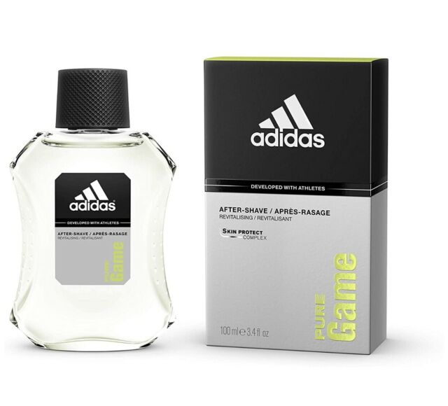 alimentar Pastor superficial  adidas Pure Game Aftershave 100 Ml 100ml for sale online   eBay