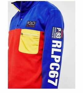 Polo-Ralph-Lauren-Men-Hi-Tech-CP-93-USA-American-Flag-Fleece-Sweatshirt-Pullover