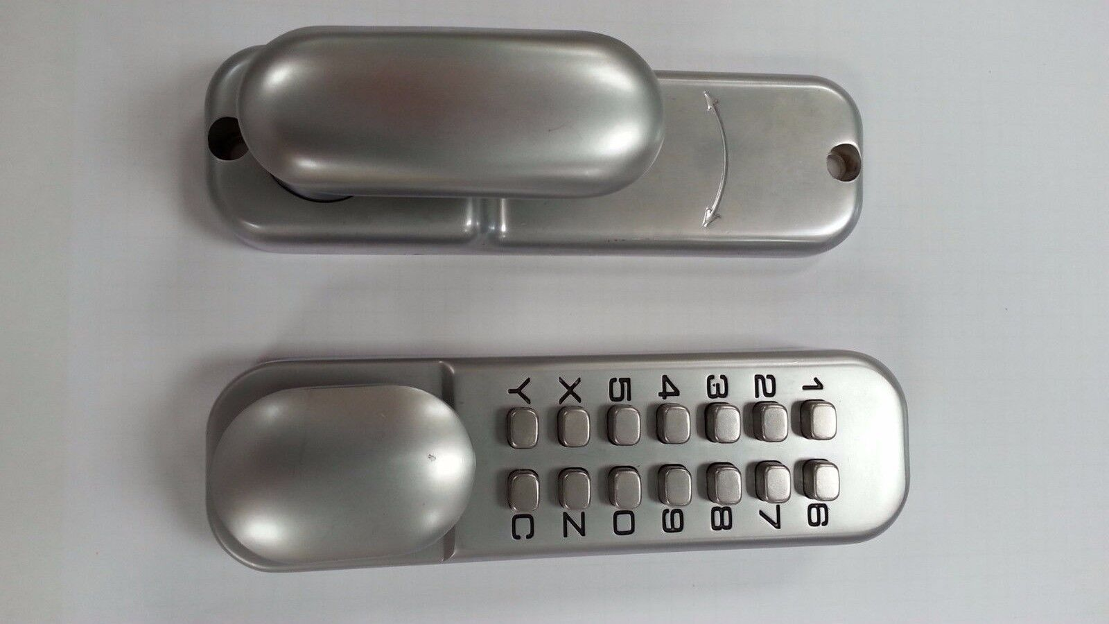 Cerradura Digital de botón de 3 xsecurefast con cortinas opcional (EU995) (SBL310 S)