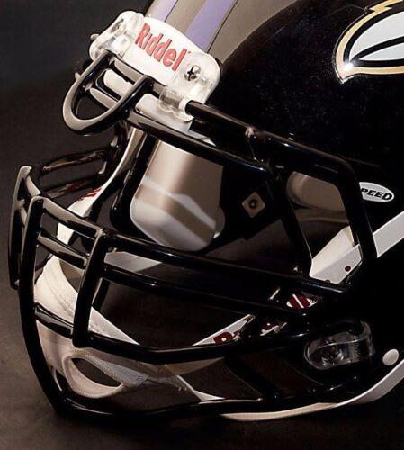 BLACK BALTIMORE RAVENS Riddell Speed S3BDU Football Helmet Facemask//Faceguard