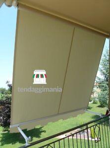 Tende Da Sole Per Balconi.Dettagli Su Tenda Da Sole A Caduta Da Balcone Para Tempotest Con Braccetti Varie Misure