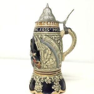 Ceramic-German-Beer-Stein-w-Wind-up-Swiss-Musical-Movement-926