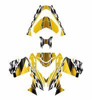 Ski Doo Rev Xs 2013 2014 2015 Graphics Sled Custom Wrap Deco Kit 2300 Yellow