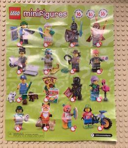 Genuine Lego 71025 Minifigure Series 19 w// Poster no.7 Jungle Explorer
