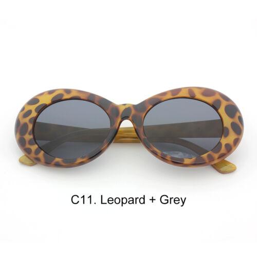Kurt Cobain Clout Goggles Rapper Oval Shades Grunge Vintage Glasses Sunglasses