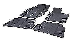 NEW GENUINE SEAT TOLEDO 2012 Onwards 4pc BLACK RUBBER MAT SET ZGB6JA251041