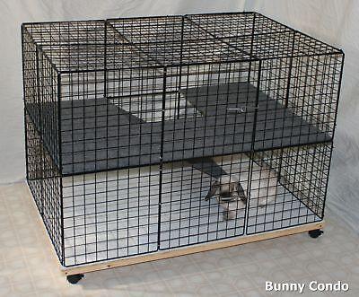 Rabbit Cage Indoor Bunny Condo Large