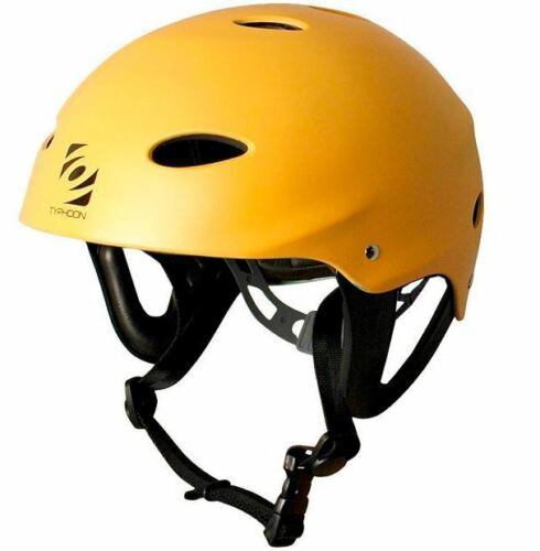 Typhoon Watersports Helmet Unisex Sport Ear Protection Kayak Canoe Jetski Yellow