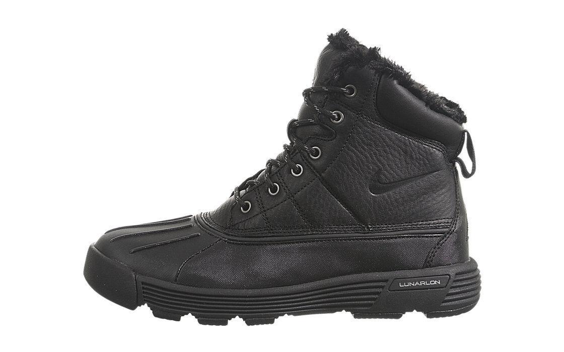 NIKE WOMENS ACG LUNARSTORM BOOT Black 417724 003 NEW Sz 12 Winter