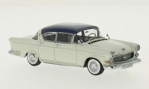 Opel kapit ä n 2,5  Blau in grau  von 1958 (neo - 1 43   43943)