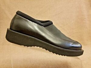 official photos 6535b 63aed Details about Rare New Jordan TWO 3 Men Black Leather Loafers Slip On Shoes  Sz 8 made in Italy