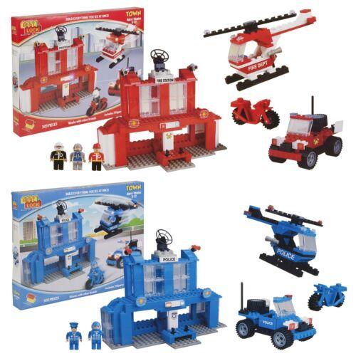 Best Lock 300pc DIY Construction Set Bricks Toy Kids Educational Building Blocks