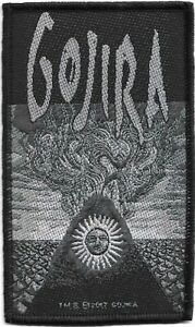 100-Official-Licensed-Merch-Woven-Sew-on-PATCH-Heavy-Metal-Rock-GOJIRA-Magma