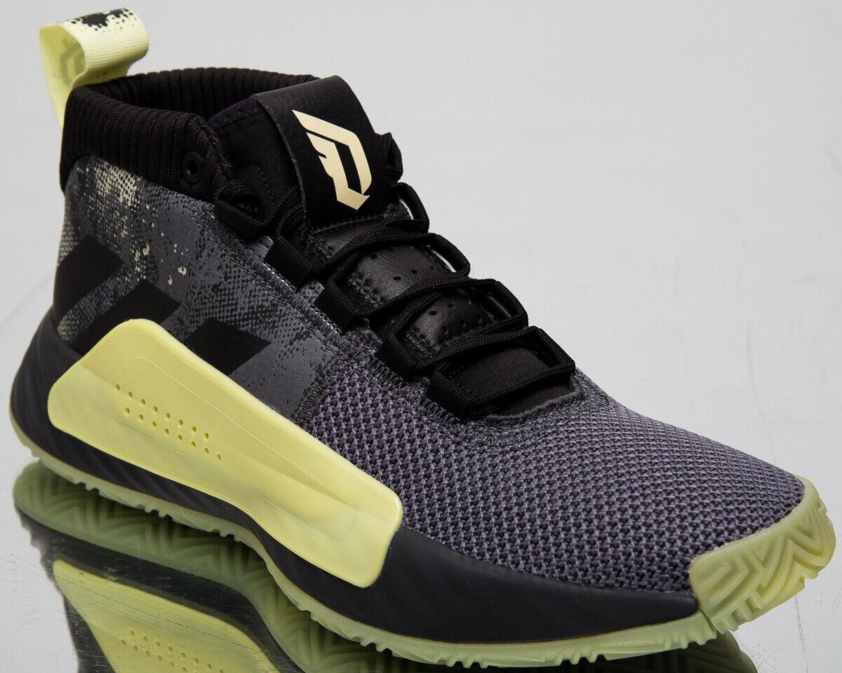 Adidas Dame 5 Street Lights Mens grau Glow In The Dark Basketball schuhe F36933
