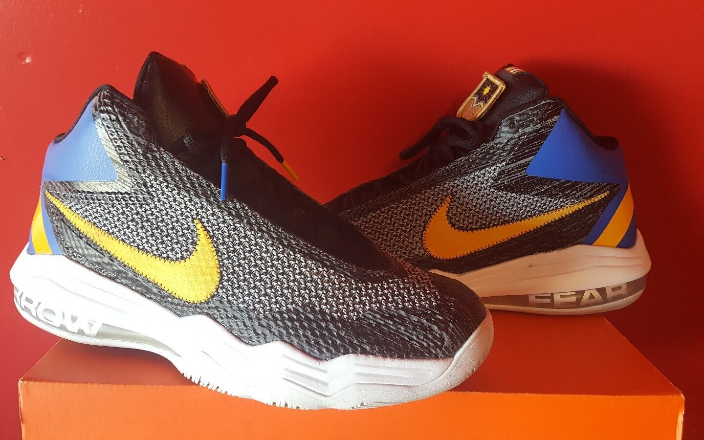 nike Air AUDACITY GOLDEN STATE WARRIORS COLORWAY Price reduction Cheap women's shoes women's shoes