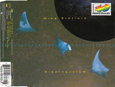 """MIKE OLDFIELD """"HIBERNACULUM / SPECTRAL ARMY"""" RARE CD MAXI STICKER 40 PRINCIPALES"""