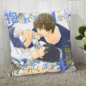 Pillow Case BL Dakaretai Otoko 1-i Ni Odosarete Imasu Takato Cushion Cover 40cm