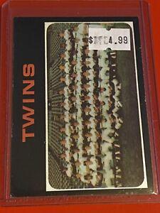 VINTAGE-1971-Topps-Baseball-Card-Set-522-MINNESOTA-TWINS-1st-TEAM-Rod-Carew
