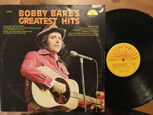 Bobby-Bare-Greatest-Hits-LP-on-SUN-Label-SUN-136-from-1974-COUNTRY-Vinyl-is-NM