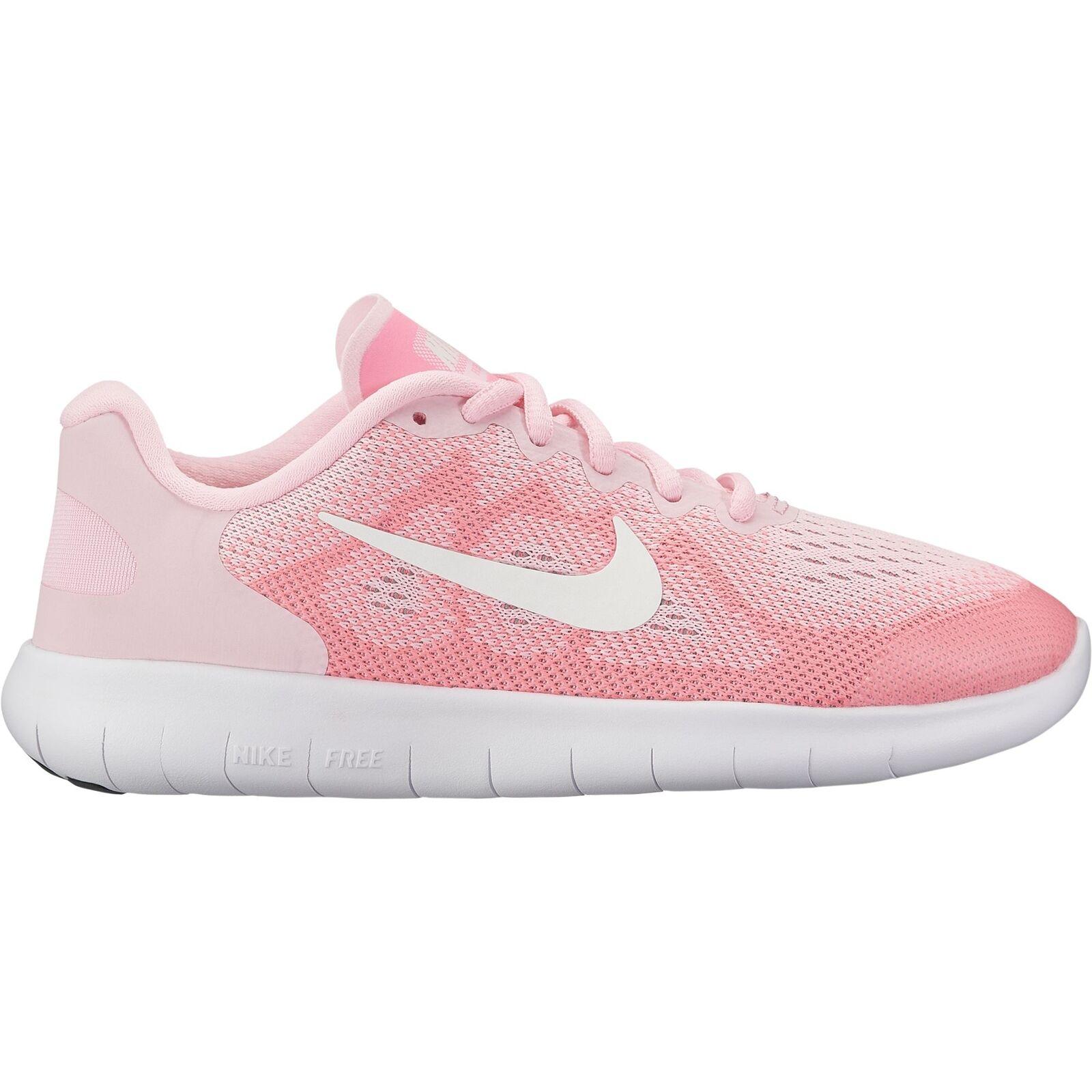 Nike Nike Nike Free RN 2017 (GS) - Kinder Freizeitschuhe Turnschuhe - 904258-602 Rosa weiß b4eb91