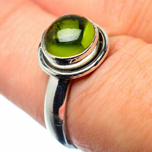 Peridot-925-Sterling-Silver-Ring-Size-7-25-Ana-Co-Jewelry-R26215F