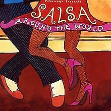 Salsa-Around-the-World-von-Putumayo-Presents-CD-Zustand-gut