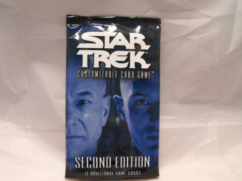 STAR TREK CCG 2E COMPLETE SEALED COMBO BOX OF SECOND EDITION