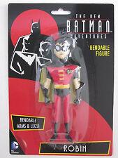 ROBIN ANIMATED SERIES the new Batman adventures Bendable Super Hero DC Comic toy