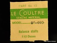 Jaeger Lecoultre Balance Staff Cal.460 Part 13 723