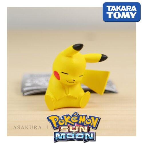 GASHAPON Takara Tomy Pokemon Sun /& Moon Oyasumi Friends Night Sleep PIKACHU.