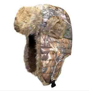 b90a704288c02 Image is loading Womens-Spartan-Realtree-Hot-Shot-Quilted-Bomber-Trapper-