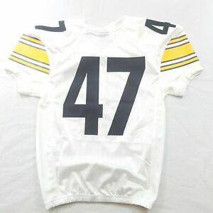 Nike Boys Football Jersey White Yellow Black Medium Stitched Numbers