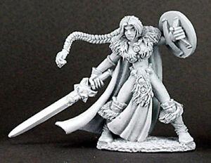 Details About Reaper Miniatures Viking Girl 02939 Dark Heaven Legends Rpg D D Mini Figure