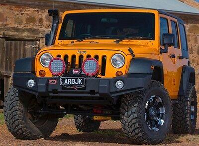 ARB Full Width Front Winch Bumper - Textured Black fits 07-17 Jeep Wrangler JK