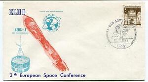 1968 Heos-a 3th European Space Conference Esro Cers Orbit Satellite Space Nasa