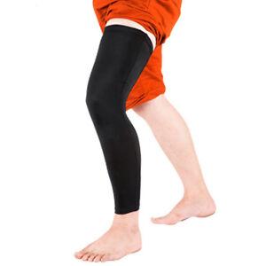 Adult-Sports-Basketball-Cycling-Strech-Leg-Knee-Long-Sleeve-Protective-Gear-t