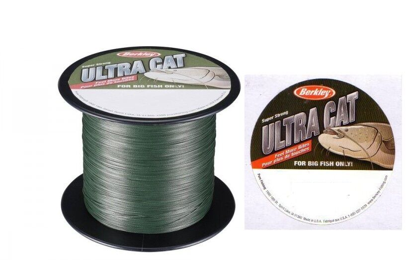 Berkley ULTRA Braid CAT Braid ULTRA 130lb (60kg) 0.40mm 1500m BULK Spool 34f0fd