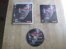 Metal Gear Solid 4: Guns of the Patriots - PS3 - Game, Case, and Manual