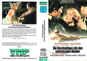 VHS-Die-Unschuldigen-mit-den-schmutzigen-Haenden-Romy-Schneider-Rod-Steiger