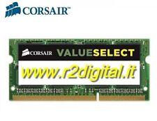 CORSAIR DDR3 4 GB 1333MHZ MEMORIA RAM MAC PC3 COMPUTER PC MEMORY SODIMM  INTERNA