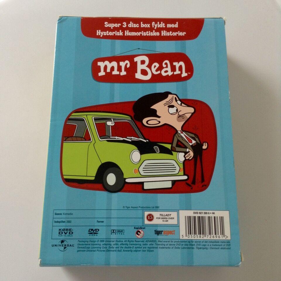 Mr. Bean 1-3 boks, DVD, tegnefilm