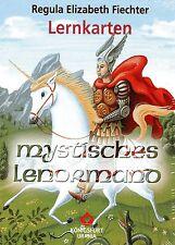 MYSTISCHES LENORMAND - Regula E. Fiechter - 36 Lernkarten - NEU