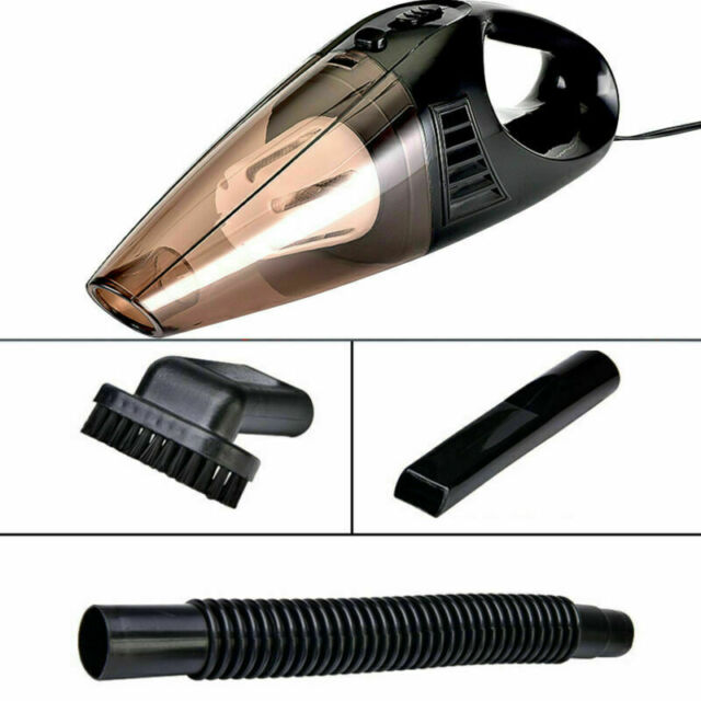 120W RECHARGEABLE CORDLESS WET// DRY CAR HOME VACUUM CLEANER PET HAIR DUST BUSTER