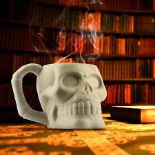 Skull Mug by Thumbs Up Spooky Skeleton Ceramic Tea & Coffee Cup Office Gift